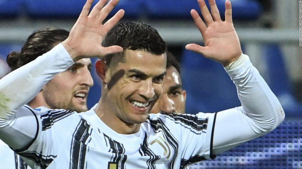 Cristiano Ronaldo: Pele congratulates Juventus star for surpassing Brazilian's 'record of goals in official matches'