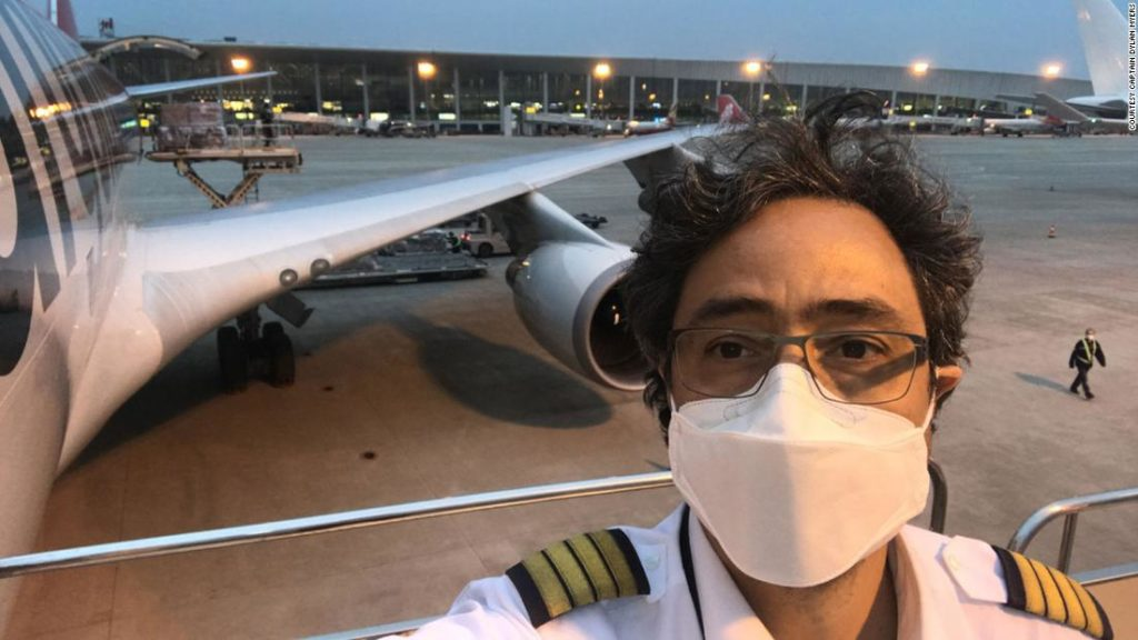The surreal lives of Covid-era pilots