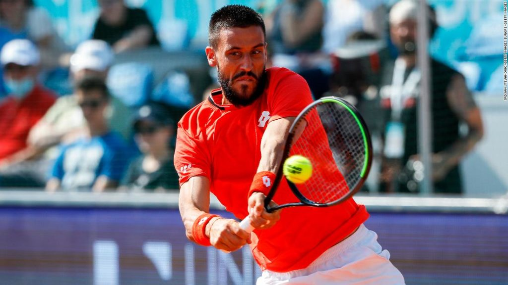 Damir Dzumhur faces disciplinary probe, fined for walking off court