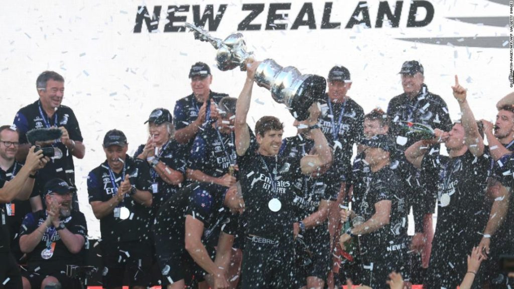 """America's Cup: Team New Zealand retains """"Auld Mug"""" trophy, defeating Italian outfit Luna Rossa"""