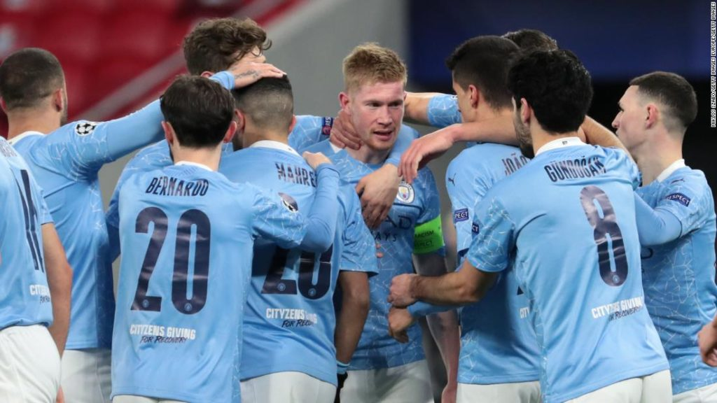 Manchester City remains on course to win unprecedented quadruple