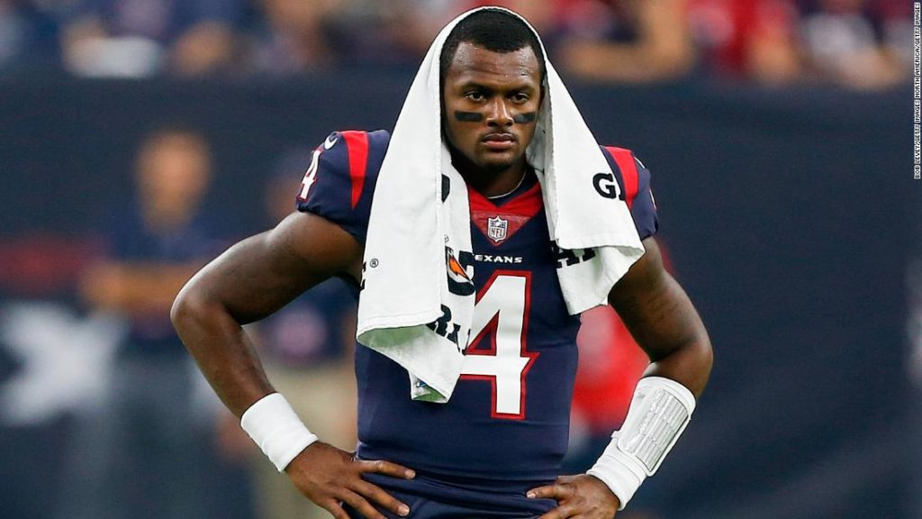 Deshaun Watson of Houston Texans sued for alleged sexual assaults