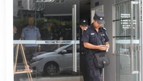 The Denfeng area of Guangzhou, in which Little Africa is located, has seen an increased police presence in recent years.