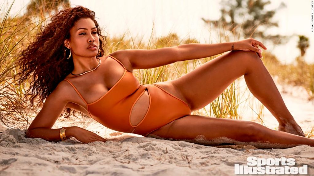 Leyna Bloom is the first transgender model of color in a Sports Illustrated swimsuit issue