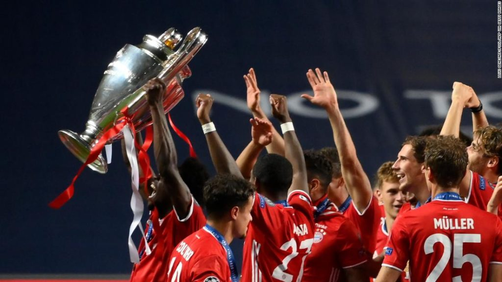Champions League quarterfinal draw: Bayern Munich to face PSG in repeat of 2020 final