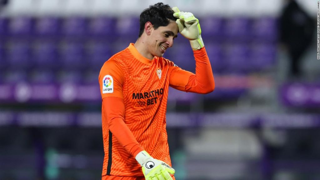 Sevilla goalkeeper Bono makes himself the unlikely hero with last-minute equalizer