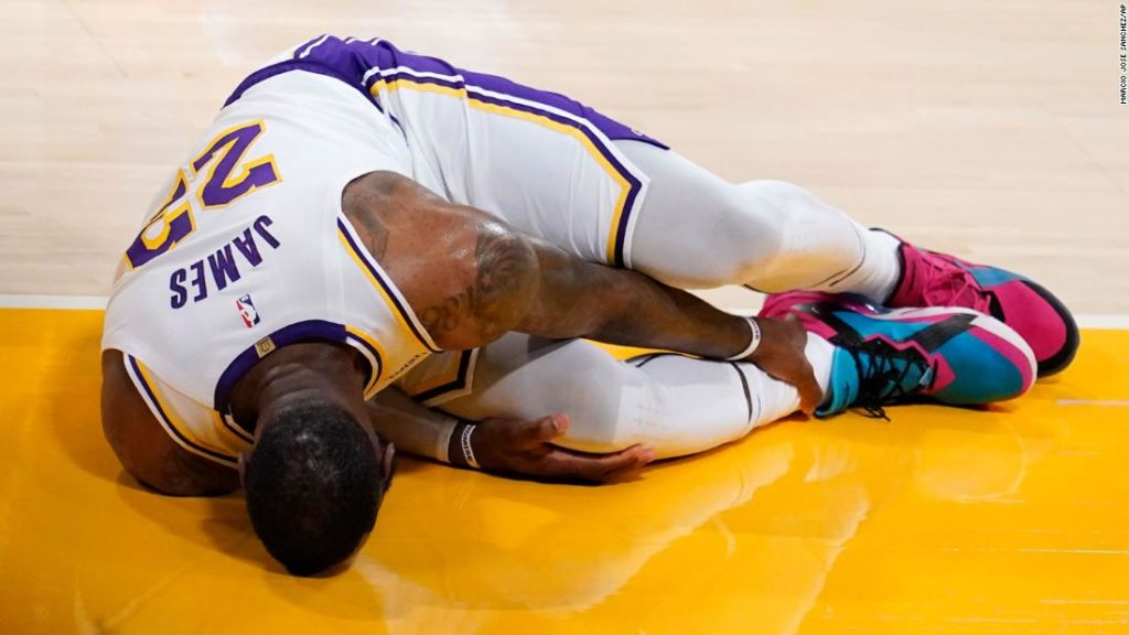 LeBron James 'out indefinitely' with ankle injury