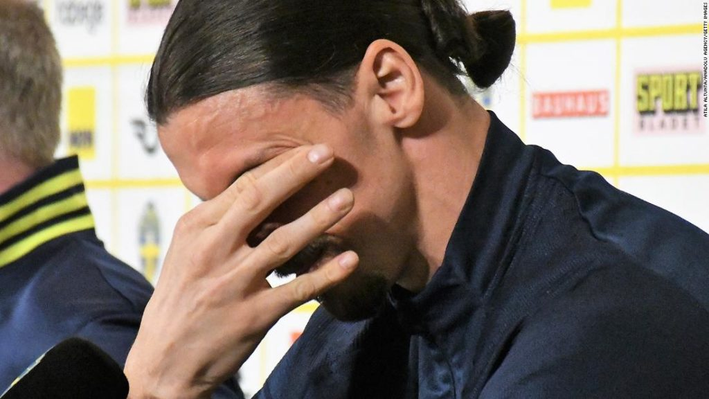 Zlatan Ibrahimovic reduced to tears on return to Sweden squad