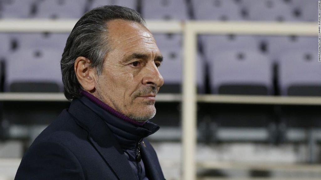 Cesare Prandelli: 'A dark cloud has developed inside of me' says Fiorentina coach as he steps down