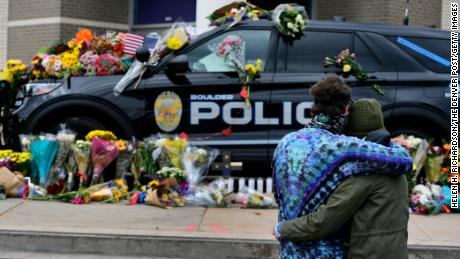 Ten people, including police officer Eric Talley, were killed after a mass shooting in Boulder.