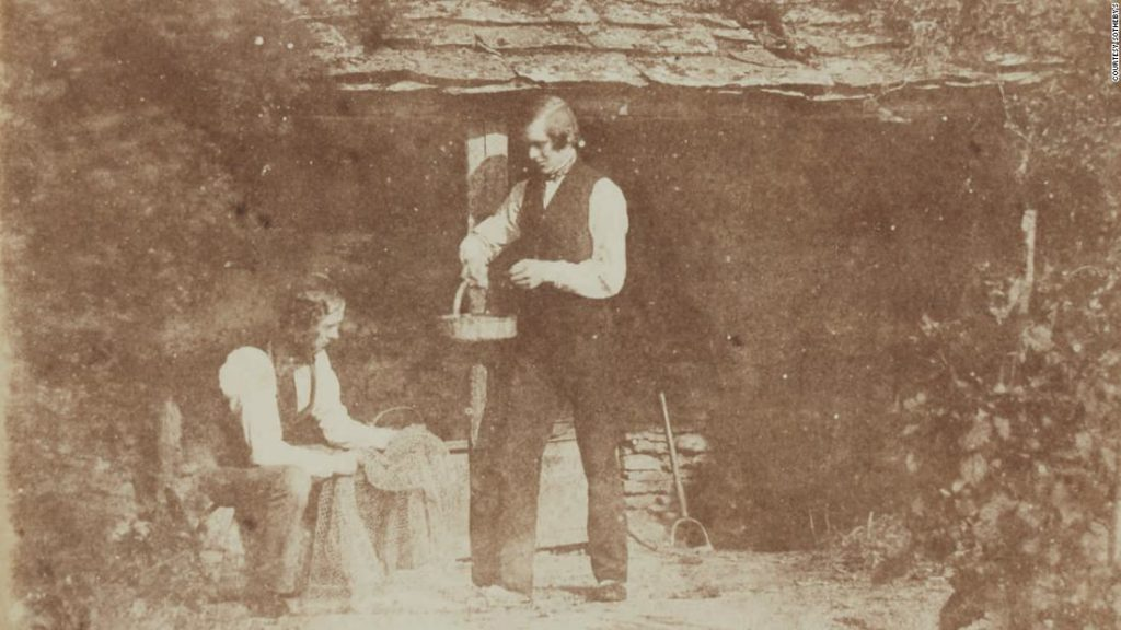 William Henry Fox Talbot photography archive heads to auction