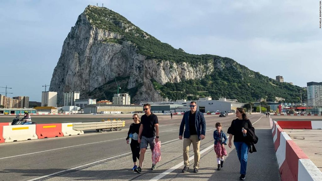 Gibraltar has vaccinated most of its adults. This is what it's like now