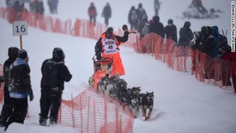 Veteran musher Thomas Waerner won last year's race.
