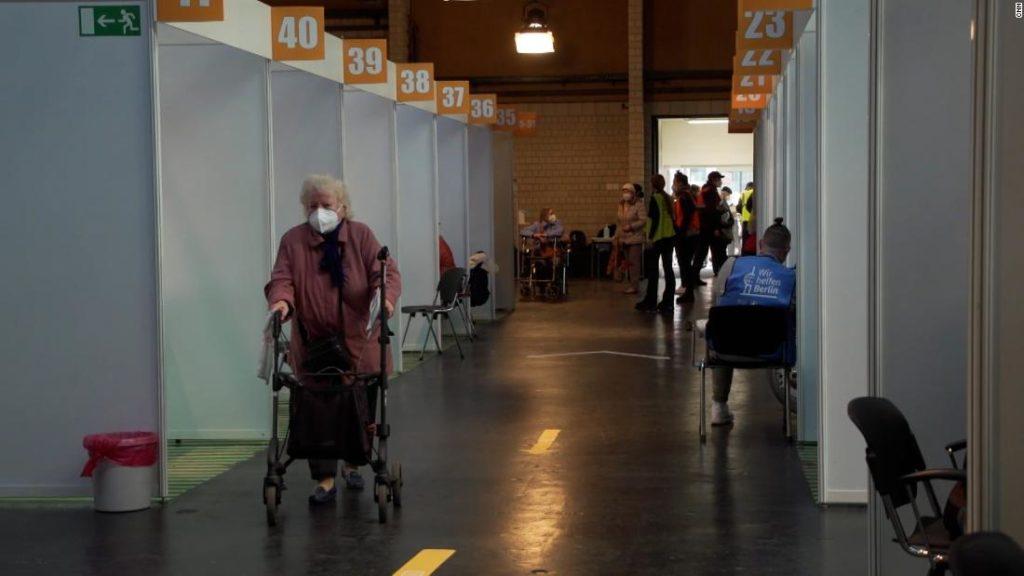 Inside a German vaccination center amid sluggish rollout