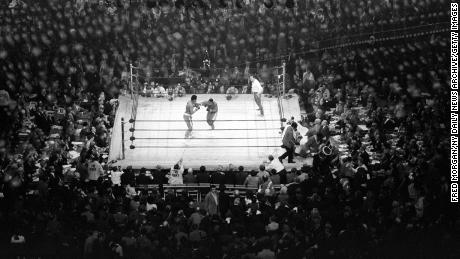 """""""This wasn't just a prize fight,"""" says boxing author Mike Silver. """"This had other dimensions to it: the dimensions of race, politics, the Vietnam War."""""""