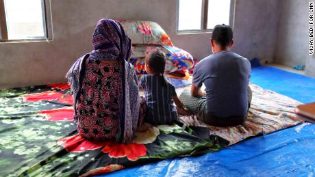 Terrified and uncertain, these families crossed mountains to escape Myanmar's deadly junta