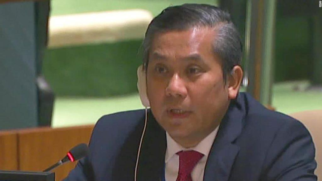 Myanmar's United Nations seat is now under dispute