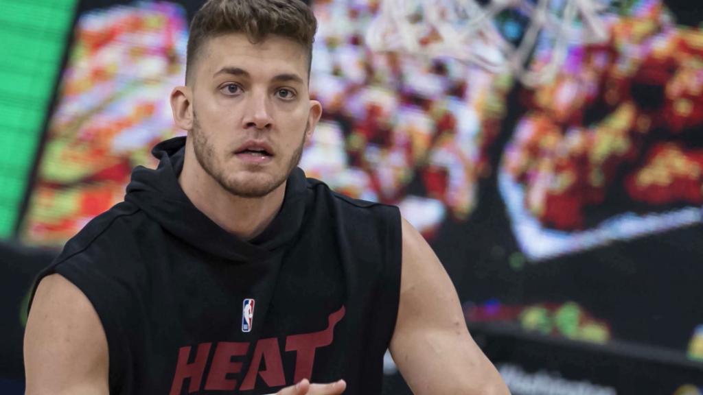 NBA fines Miami Heat star Meyers Leonard $50,000