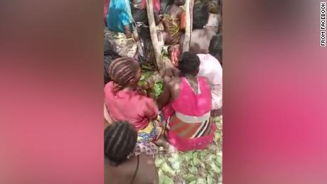 A disturbing video of students kidnapped from a college in Nigeria's northwest Kaduna state being held at gunpoint and beaten with a whip by their abductors has emerged on Saturday.