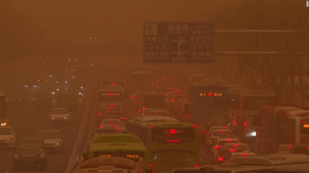 See Beijing's biggest sandstorm in 10 years