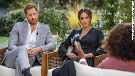 Prince Harry and Meghan interview with Oprah.