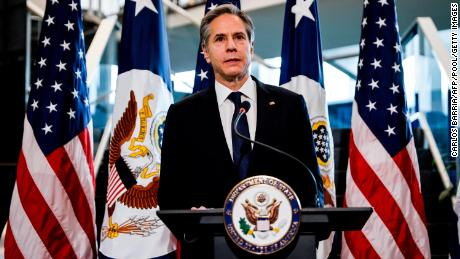 Blinken speaks with families of US hostages and wrongful detainees