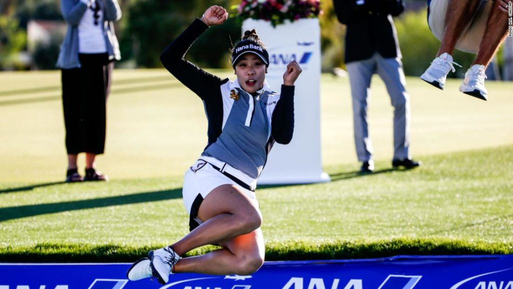 Patty Tavatanakit wins ANA Inspiration despite Lydia Ko's record-equaling round