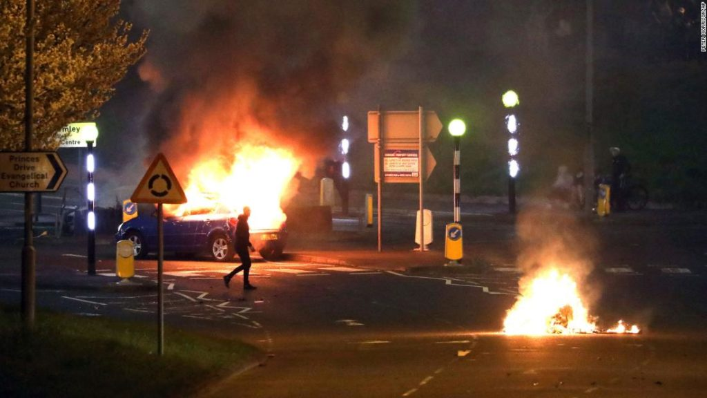 Northern Ireland sees three nights of violence as tensions build