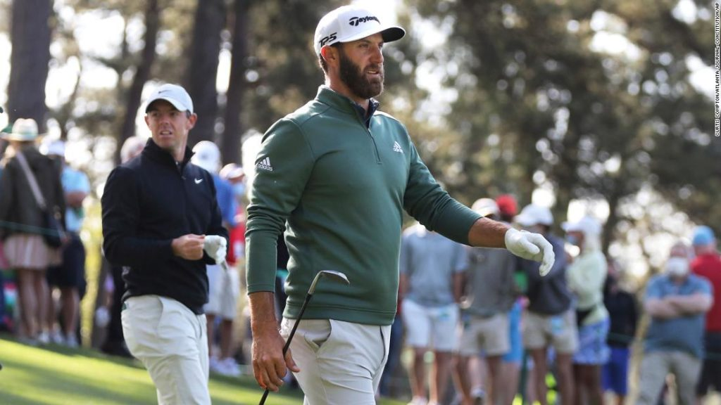The Masters: Dustin Johnson to serve pigs in a blankets, filet mignon at Champions Dinner