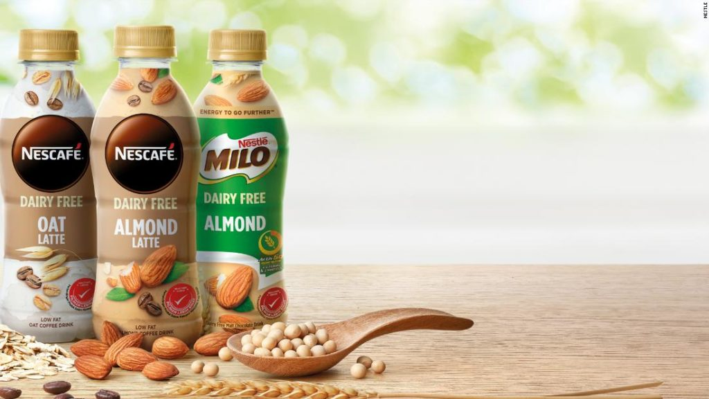 Milk-free Milo and meatless 'pork': Nestlé, Impossible and other brands bet big on plant-based food in Asia