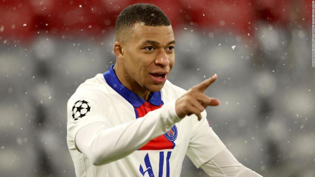 Kylian Mbappe's brace hands PSG a Champions League win over Bayern Munich