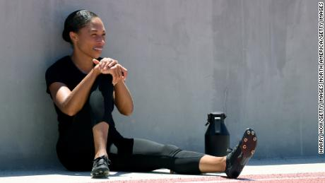 Allyson Felix is aiming to compete at her fifth Olympics.
