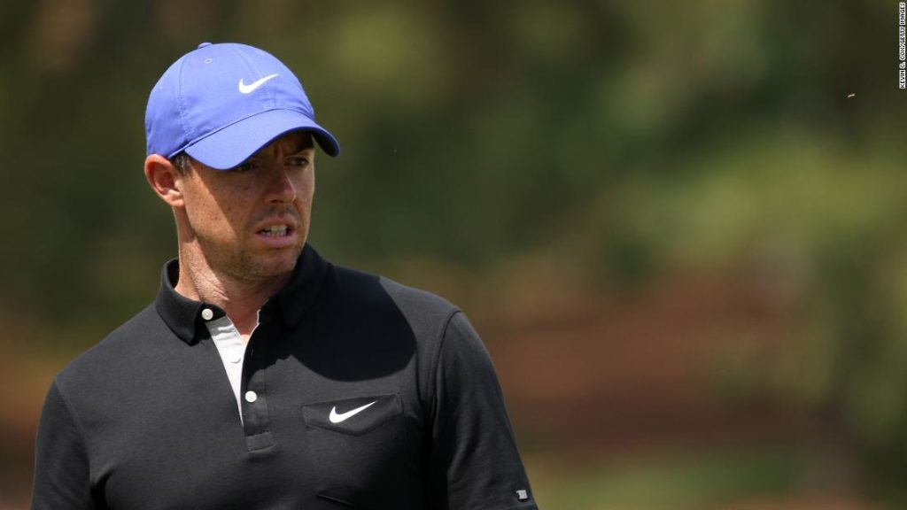 The Masters: Rory McIlroy hits father with ball in sloppy first round