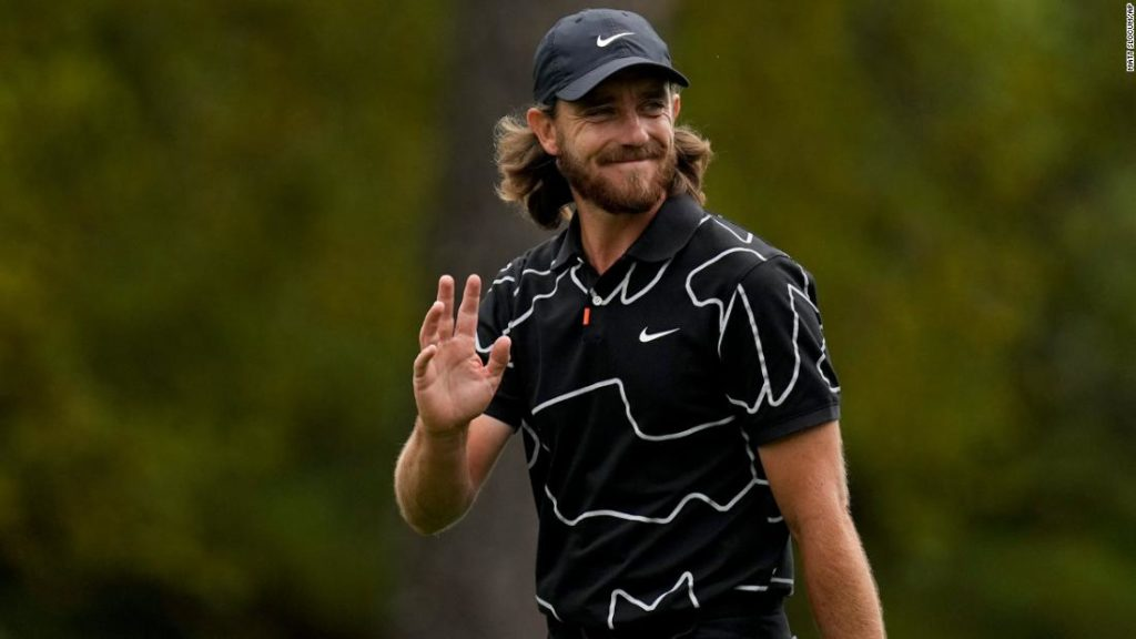 The Masters: Tommy Fleetwood hits memorable hole-in-one