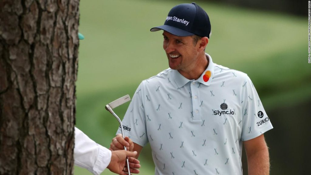 The Masters: Justin Rose charges into four-shot lead with commanding first-round 65