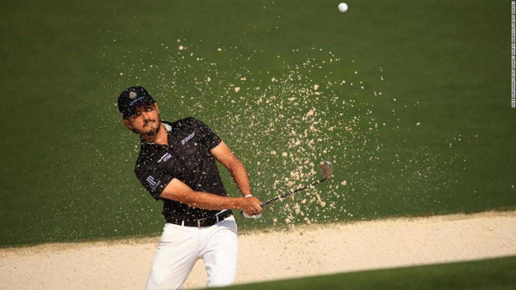 The Masters: Abraham Ancer 'gutted' after two-stroke penalty for inadvertent bunker error