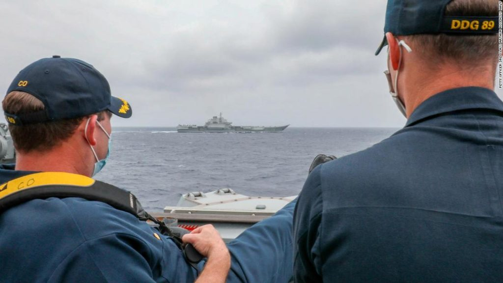 US and China deploy aircraft carriers in South China Sea as Philippines prepares for joint exercises