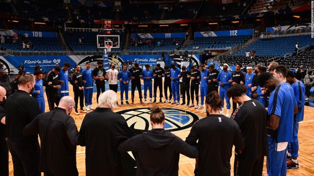 NBA, MLB and NHL postpone Minneapolis games following fatal shooting of Daunte Wright