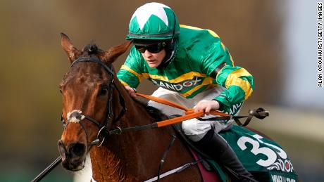 Blackmore rode Minella Times to victory at the historic Aintree Racecourse.