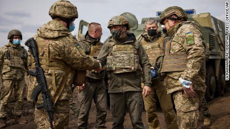 Zelensky said he knows frontline soldiers are tired of the long war.