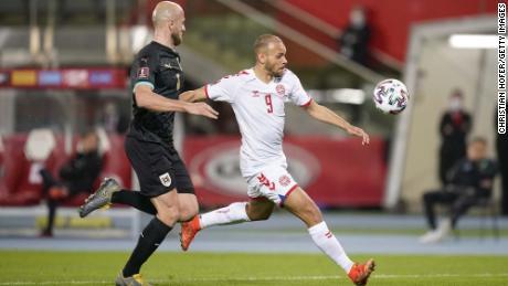 Danish striker Braithwaite will feature for his country this summer at UEFA's postponed Euro 2020.