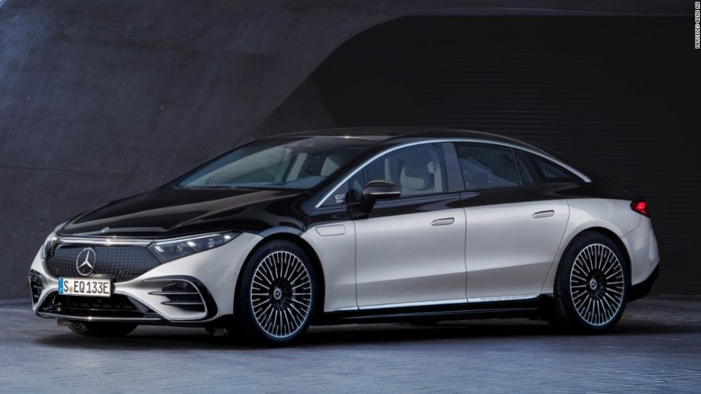 Mercedes' new electric car has a nap mode and doors that open for you