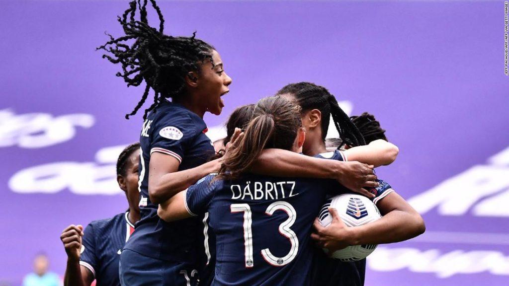 Paris Saint-Germain ends Lyon's stranglehold on Women's Champions League