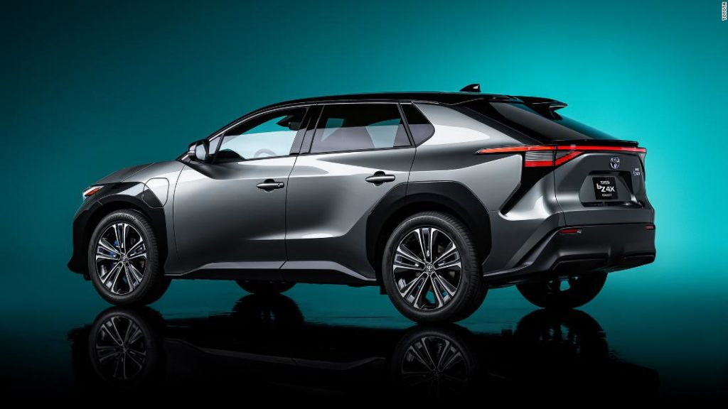 Toyota's BZ4X electric SUV concept is a glimpse at the company's future