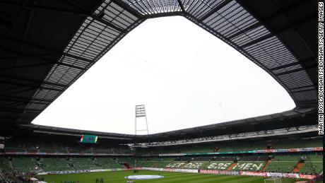Bundesliga club Werder Bremen has equipped its stadium with solar panels