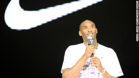 Kobe Bryant's estate ends nearly two-decade deal with Nike