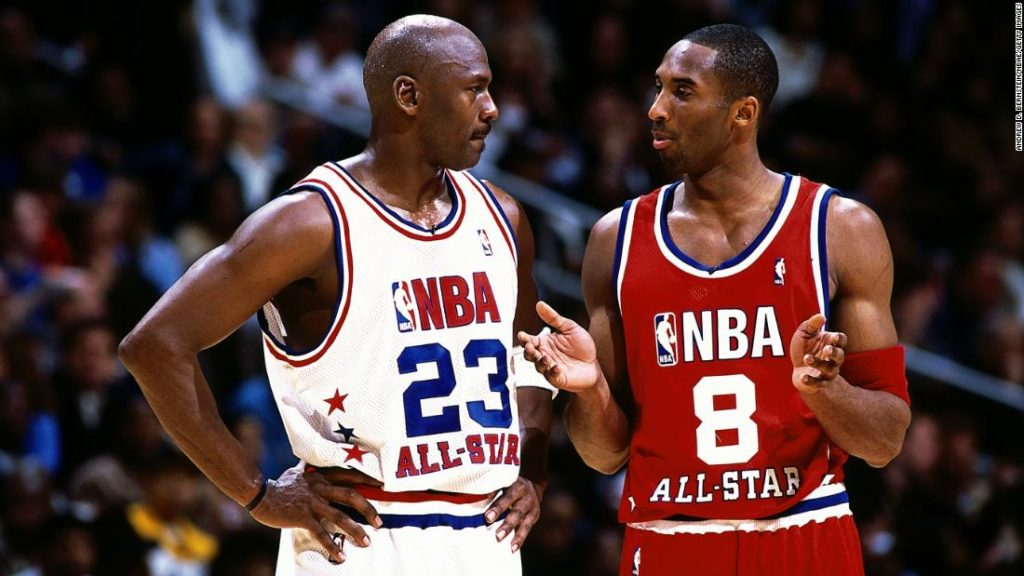 NBA great Michael Jordan will present Kobe Bryant for basketball Hall of Fame inductionha