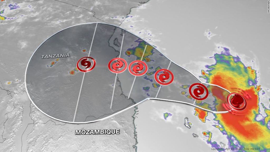 Jobo: A rare tropical cyclone is approaching one of Africa's most populated cities