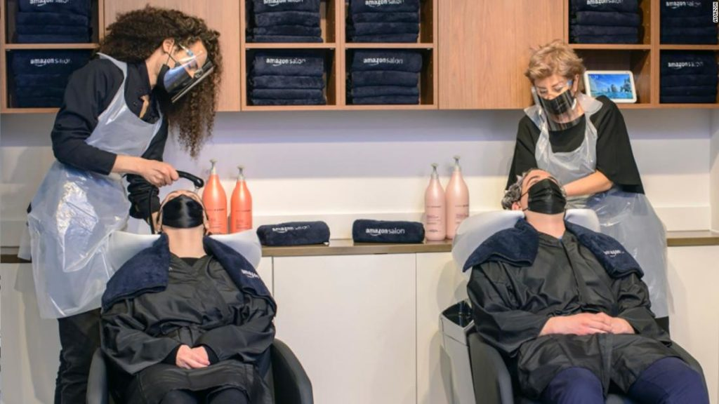 Alexa, should I get bangs? Amazon is opening a hair salon in London