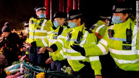The Metropolitan Police's approach at a vigil for Sarah Everard has been widely criticized.
